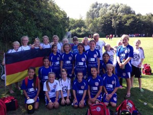 NSA and cloppenburg Select Team from Germany. Dana Cup 2014 Third Place winners