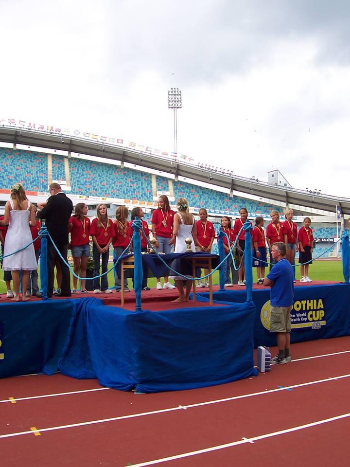EURO2005_Podium Gothia Cup_from Katie Beattie